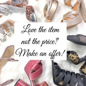 Shoes - Make your Offer!! Bundle and Save🌸